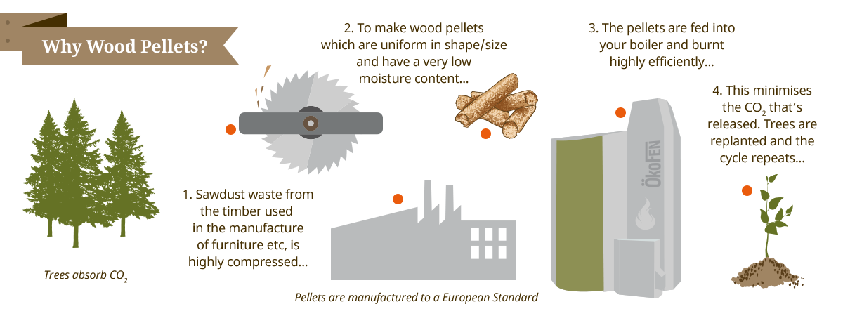 Why Pellematic wood pellet boilers from Organic Energy
